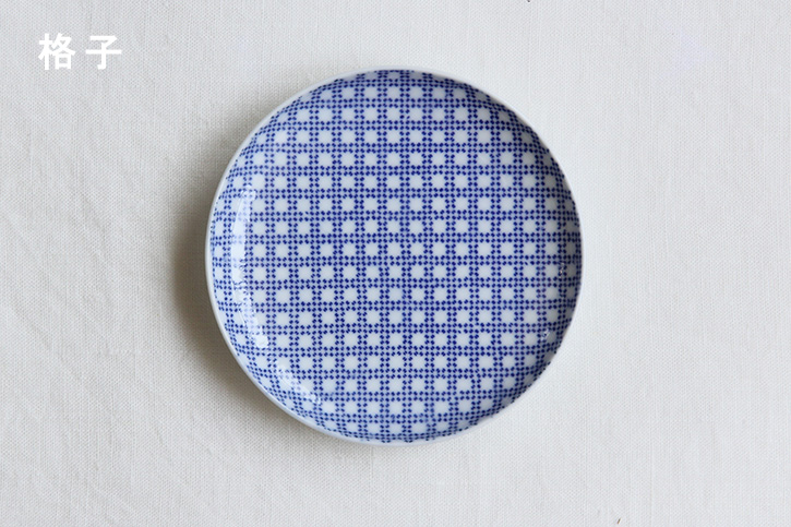 印判小皿 (東屋)