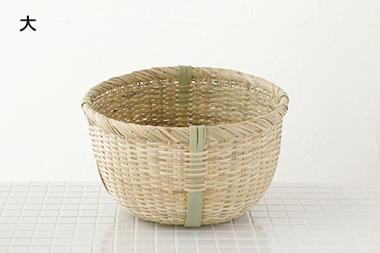 【一時生産中止】米とぎざる (大宮竹材工芸)