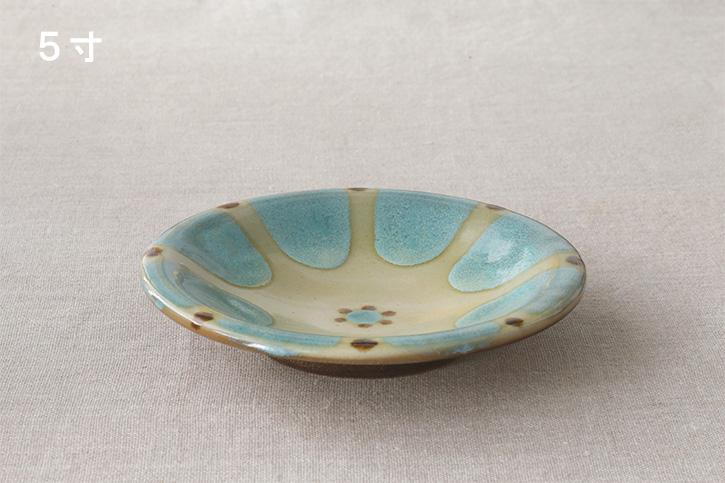 皿 チチチャン (ノモ陶器製作所)