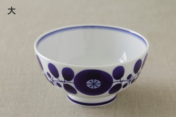 ブルーム お茶わん (白山陶器)