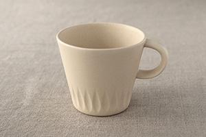 【取扱終了】ローリエ マグカップ クリーム (フォースマーケット/4th-market)
