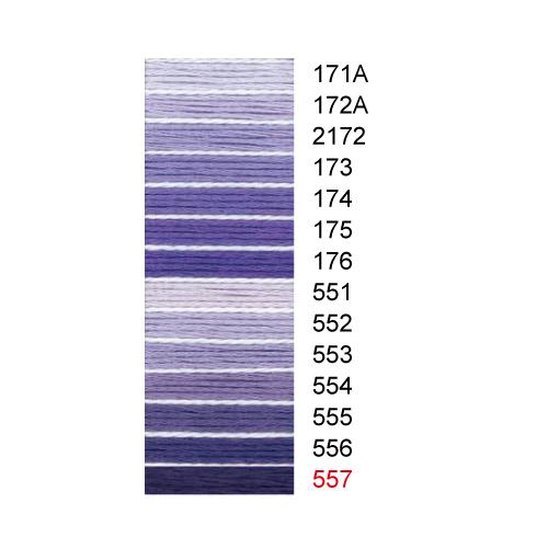 コスモ25番刺しゅう糸全500色 / 171A-557