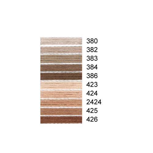 コスモ25番刺しゅう糸全500色 / 380-426