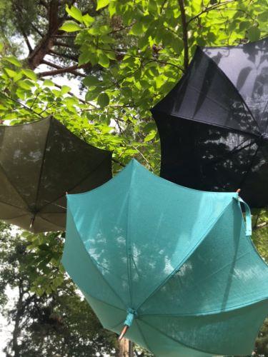 戸塚オリジナル リネンパラソル 日傘