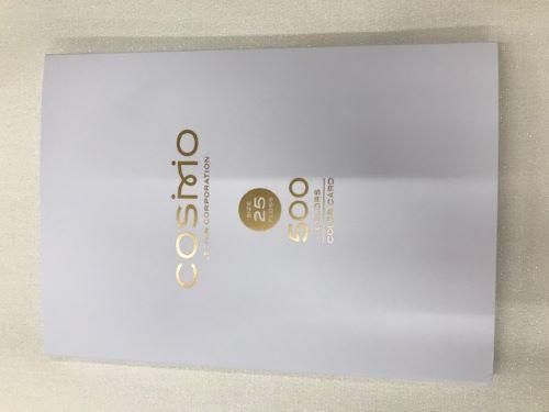 <NEW>COSMO☆糸見本帳