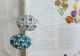 〈書籍〉地刺しの連続模様2  小花と木の実のブローチ