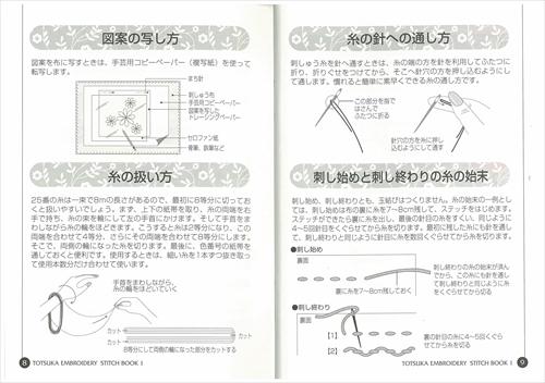 ステッチBOOK 1 基礎編