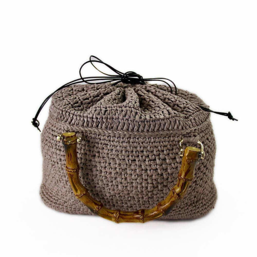 〈キット〉竹籠鞄(竹かごバッグ)キット Designed by the723garment