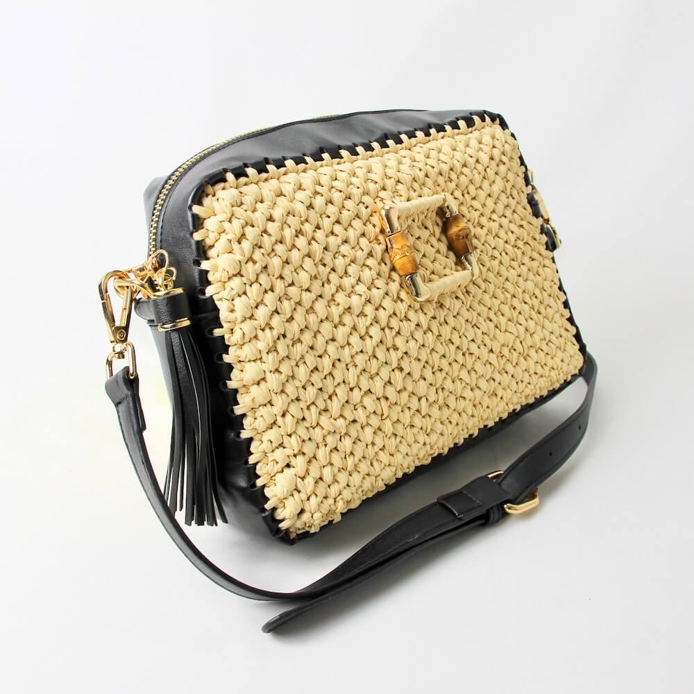 〈キット〉「ボックスジッパーバッグ」キット Designed by Hanayuri