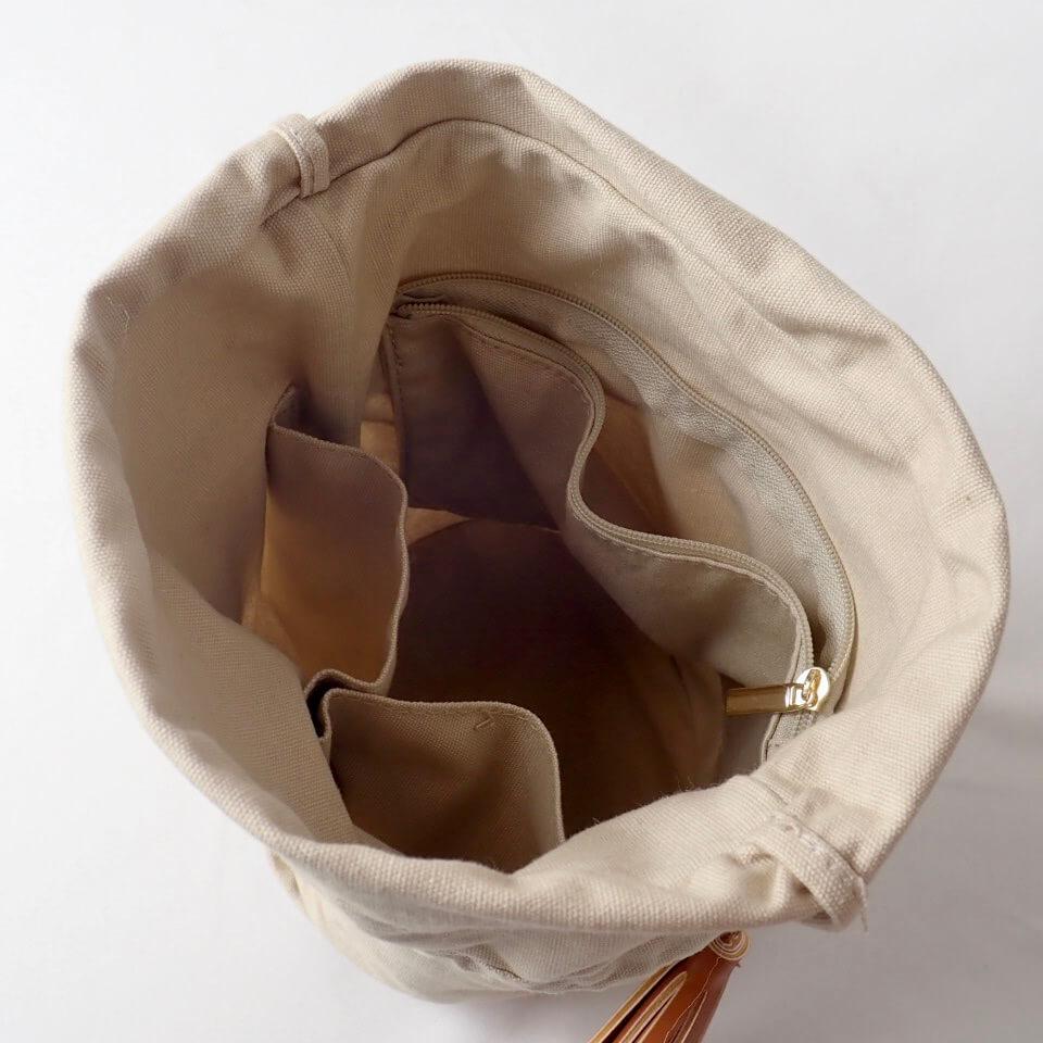 〈キット〉コットンラフィア メランジラティスバッグ キット Designed by hatschi