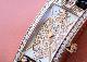 ハリーウィンストン AVCQHM16RR045 レディース アヴェニューC ミニ エリプティック RG 白シェル/ダイヤモンド文字盤 クォーツ レザー