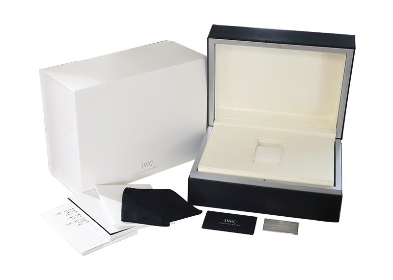 【中古】IWC IW356519 ポートフィノ 150イヤーズ SS 白文字盤 自動巻き レザー
