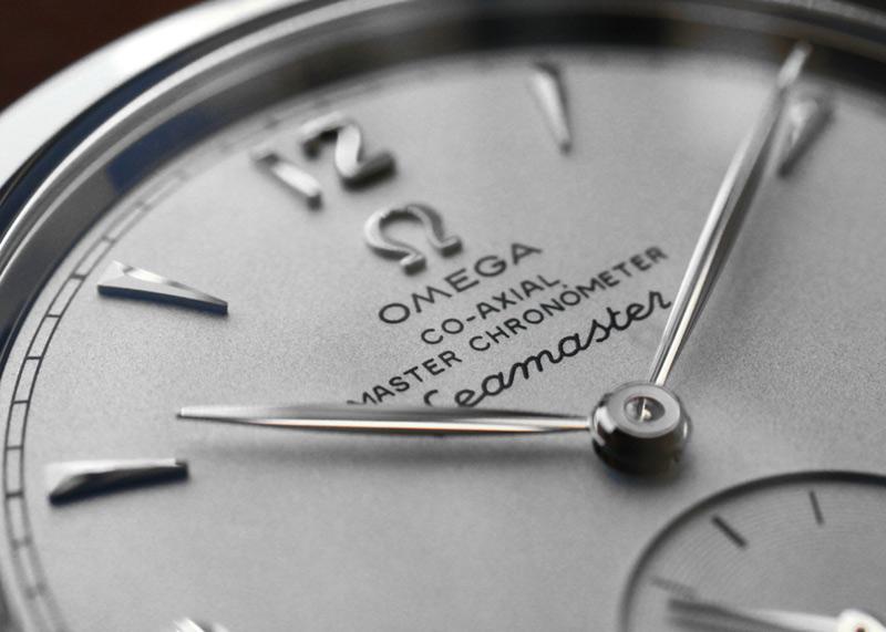 【正規未使用品】オメガ 511.12.38.20.02.001 シーマスター 1948 コーアクシャル マスタークロノメーター 1948本限定 SS シルバー文字盤 自動巻き レザー
