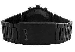 【世界限定911本】 ポルシェデザイン 6510.43.41.0272 ヘリテージ ブラック クロノグラフ リミテッドエディション P'6510 SS(PVD) 黒文字盤 自動巻き ブレスレット