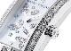 ハリーウィンストン AVCQHM16WW049 レディース アヴェニューC ミニ リリークラスター ダイヤモンドベゼル WG 白シェル文字盤/ダイヤモンド クォーツ レザー