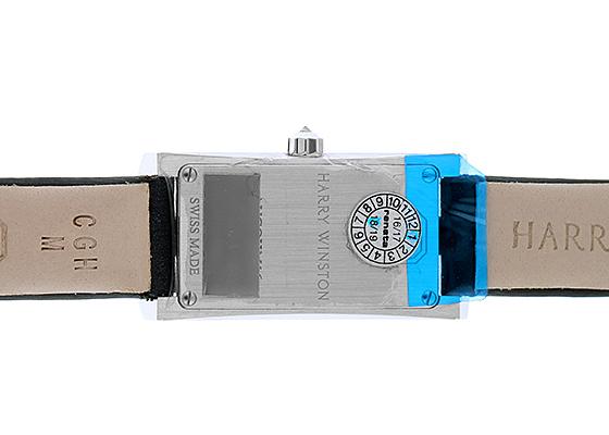ハリーウィンストン AVCQHM16WW024  レディース アヴェニューC ミニ  ダイヤモンドケース WG シェル文字盤 クォーツ サテン