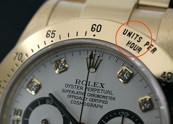 【中古】ロレックス 16528G コスモグラフデイトナ S番 逆6ダイヤル YG 白文字盤/8Pダイヤモンド 自動巻き ブレスレット