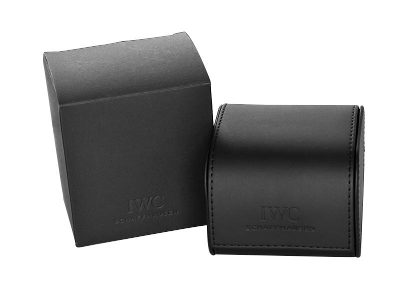 【中古】IWC IW325301 マークXV SS 黒文字盤 自動巻き レザー【魚リューズ】