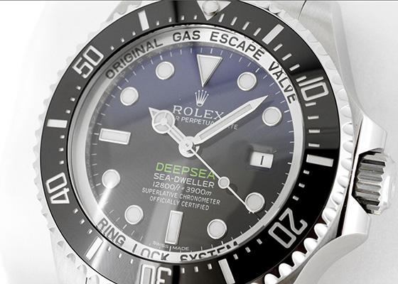 【未使用品】ロレックス 116660 シードゥエラー ディープシー D-BULEダイヤル SS 青/黒文字盤 自動巻き ブレスレット