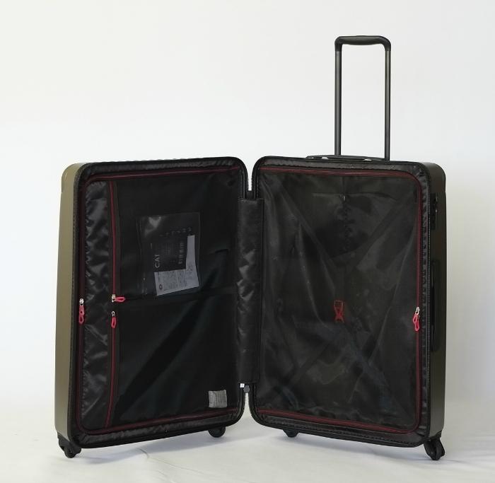 [TORIO]カーゴ/CARGO   カーキ 細部までスタイリッシュなスーツケース 大型84L軽量4.0Kg TSAロック付き