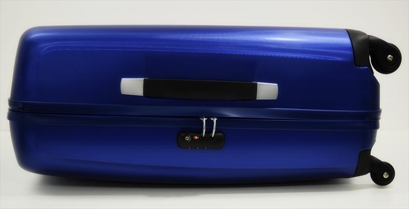 [サムソナイト] SAMSONITE 無料機内預け可能で大型95L軽量4.2Kg TSAロック付きスーツケース ブルー