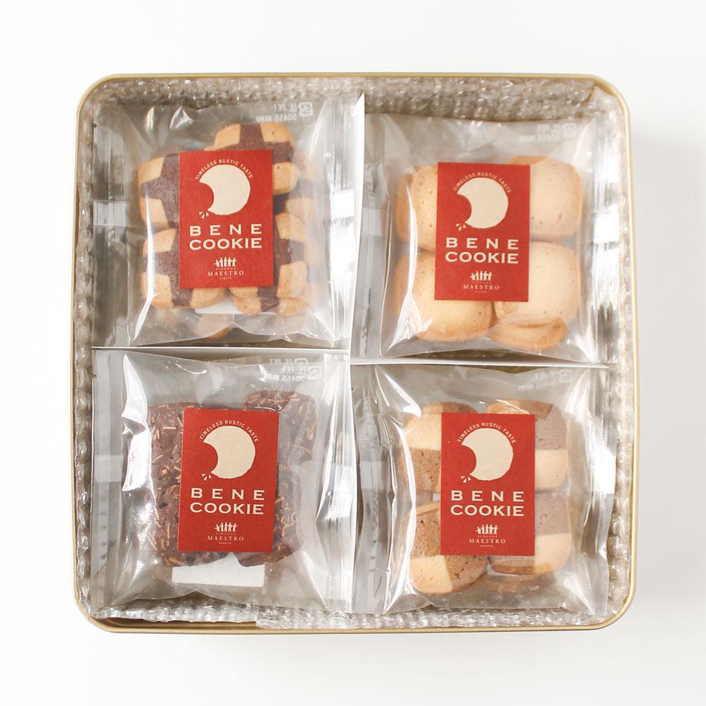 【今だけ送料無料】BENEクッキー大缶 8枚入×12袋