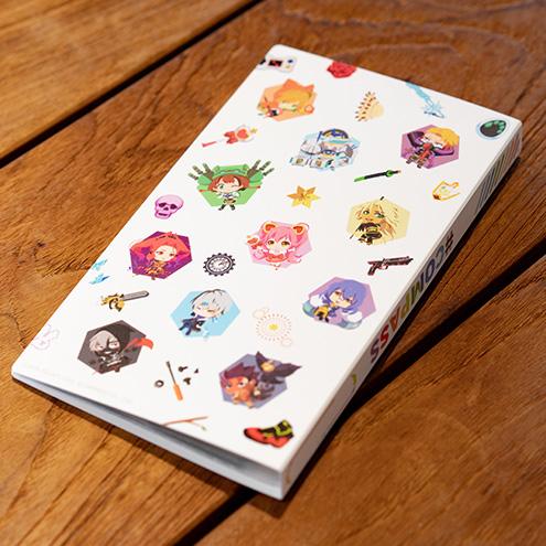 #コンパス カードホルダー(ver.ちびキャラ)