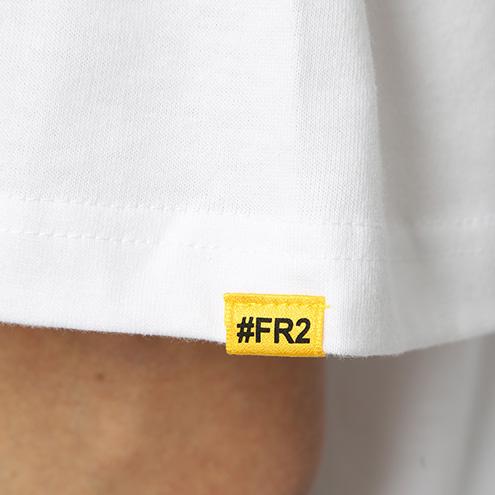 FRC868 #FR2×#コンパス メグメグ Tee 0001 ホワイト