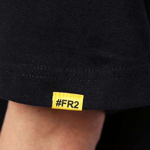FRC868 #FR2×#コンパス メグメグ Tee 0029 ブラック