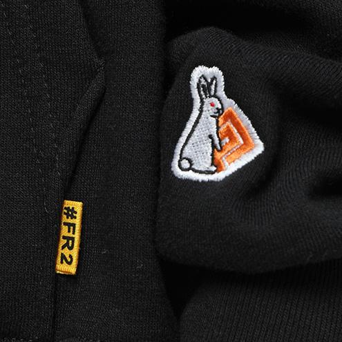 FRC870 #FR2×#コンパス メグメグ Hoodie 0029 ブラック