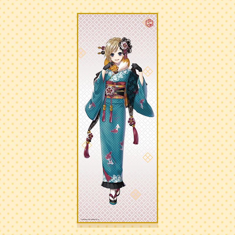 【販売期間:9/1〜9/30】手ぬぐいポスター(ver.深川 まとい)