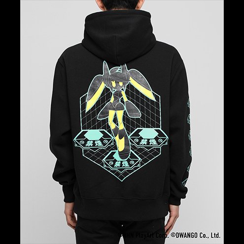 #コンパス Collaboration with #FR2 Voidoll Hoodie 0001 ブラック