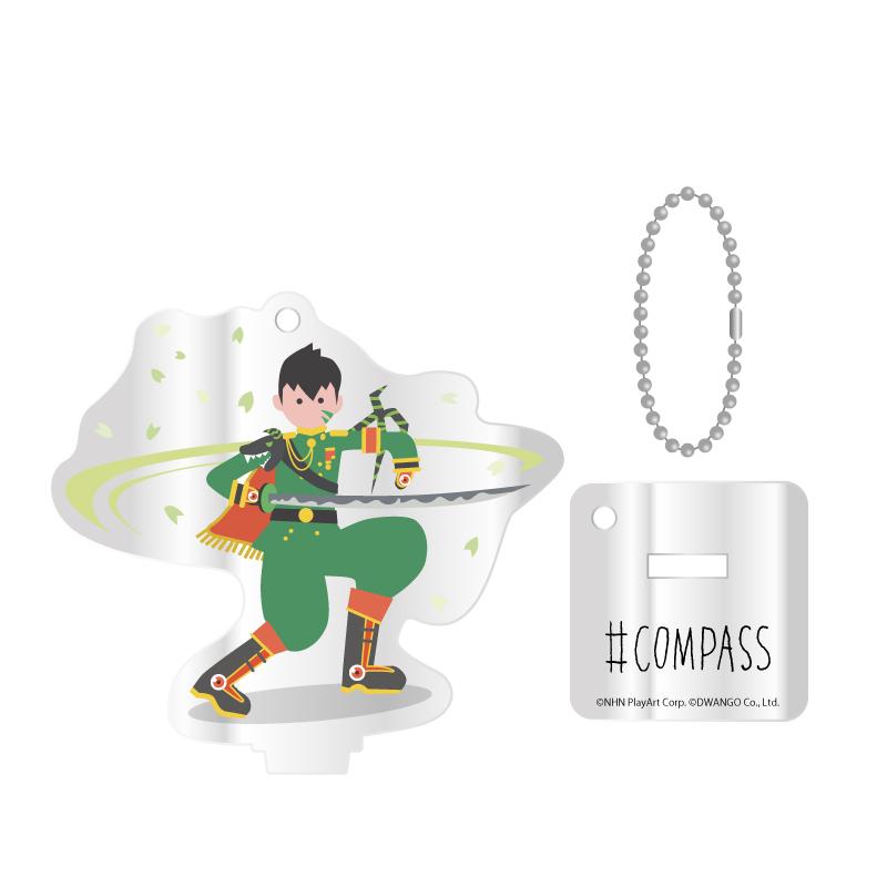 #COMPASS-JACK アクリルスタンドキーホルダー 桜華 忠臣