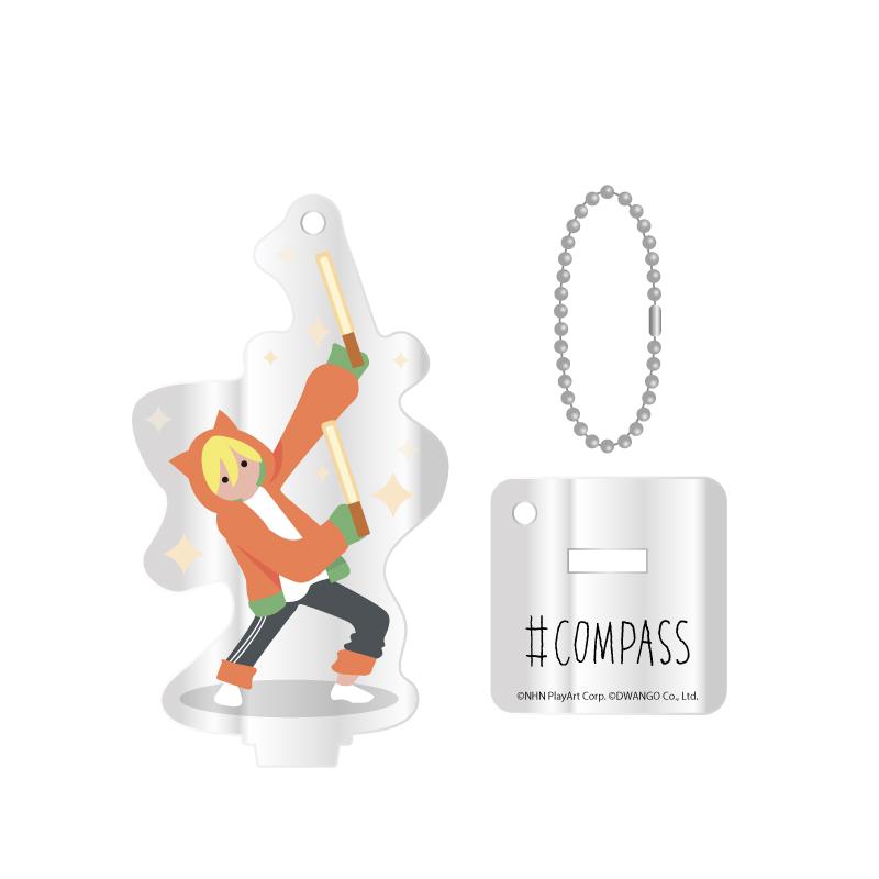 #COMPASS-JACK アクリルスタンドキーホルダー マルコス'55