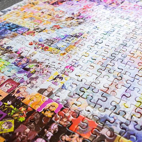 #コンパス 4周年記念パズル
