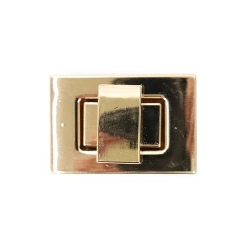 バック金具 長方形 ゴールド