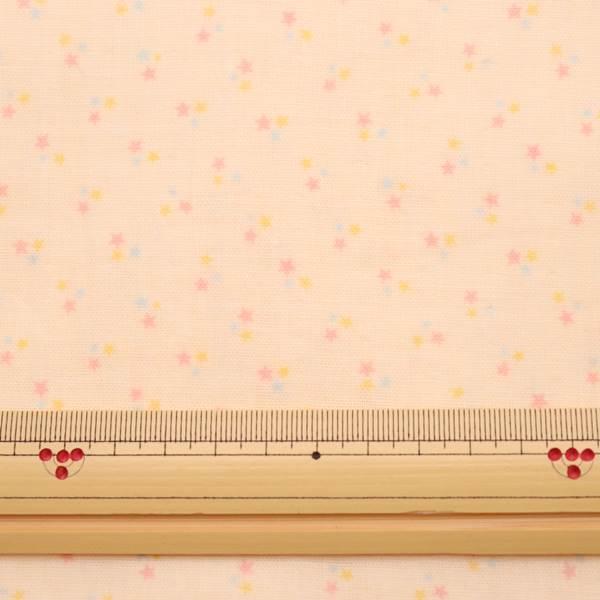 【抗菌・抗ウィルス】クレンゼ ダブルガーゼ プリント 星柄 50cmカットクロス
