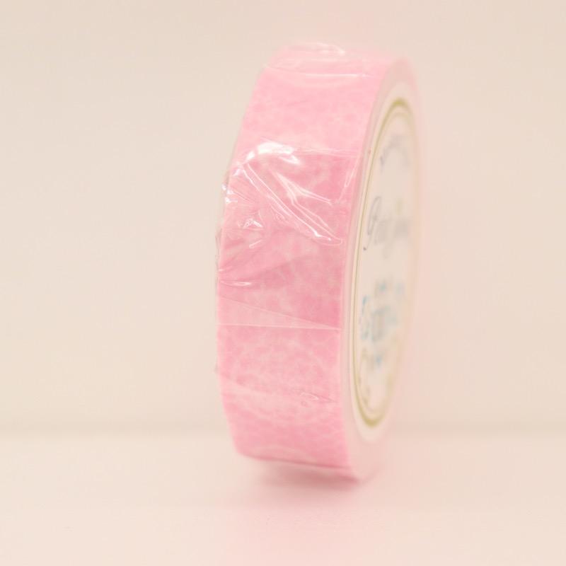 マスキングテープ チュールレース ピンク 幅15mm×18m巻