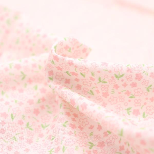 【抗菌・抗ウイルス】クレンゼ スケアー プリント生地 小花柄 50cmカットクロス