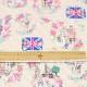 ピーターラビット シーチング【キルト】Flowery London柄(50cm単位)