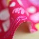 バービー オックスプリント【50cmカットクロス】アイコン柄 ピンク