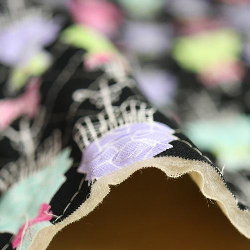 バービーオックス【キルト】ドレス柄【50cmカットクロス】