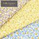 生地 【商用利用OK】Indra Larssen インドラ ラルセン シーチング 小道のお花柄 DR59800-1