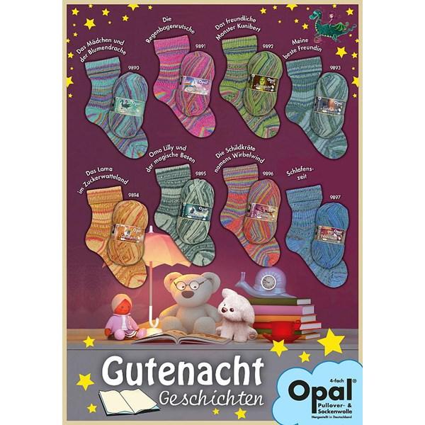 OPAL(オパール) Gutenacht_Geschichten /おとぎ話 4-fach