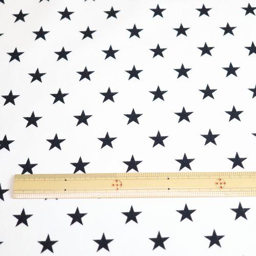 ネルプリント 星柄(50cm単位)