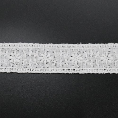 ダブルガーゼレース(オフ)RG3001(50cm単位)