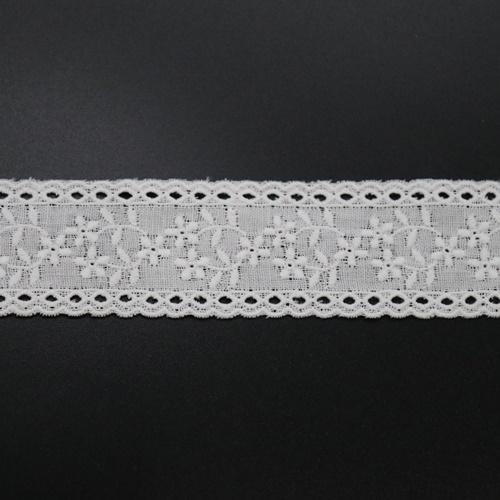 ダブルガーゼレース(オフ)RG3003(50cm単位)