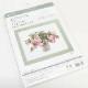 コスモ【刺繍キット】Fujico collection バラとジューンベリー