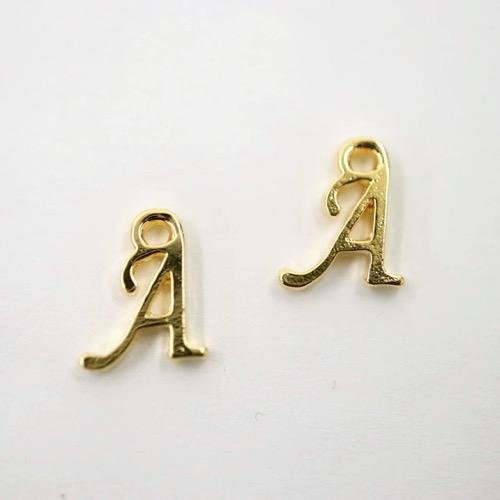アルファベット パーツ A ゴールド