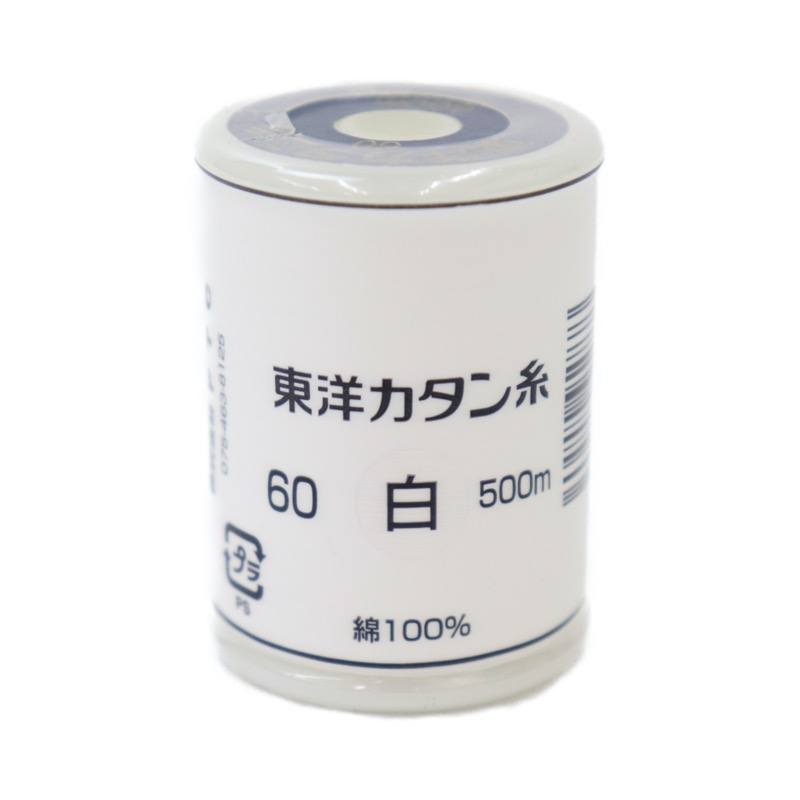 東洋カタン糸 白 60 500m